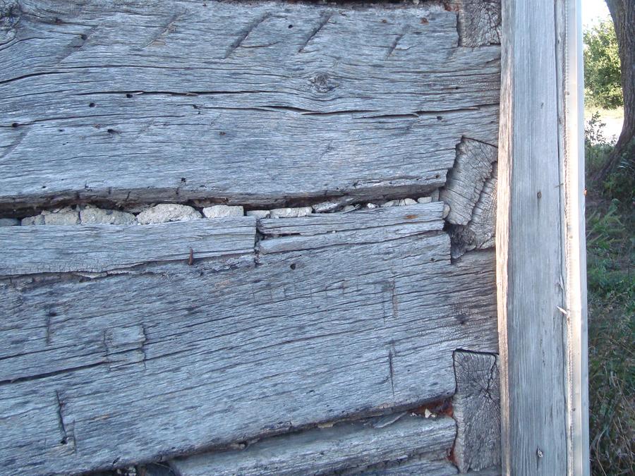 Early Jefferson County log cabin.